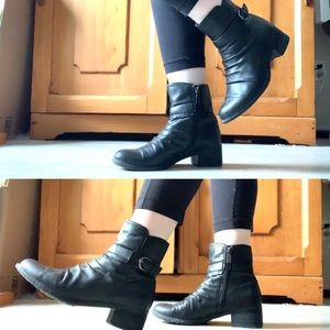 Blondo- Leather Ankle Boot